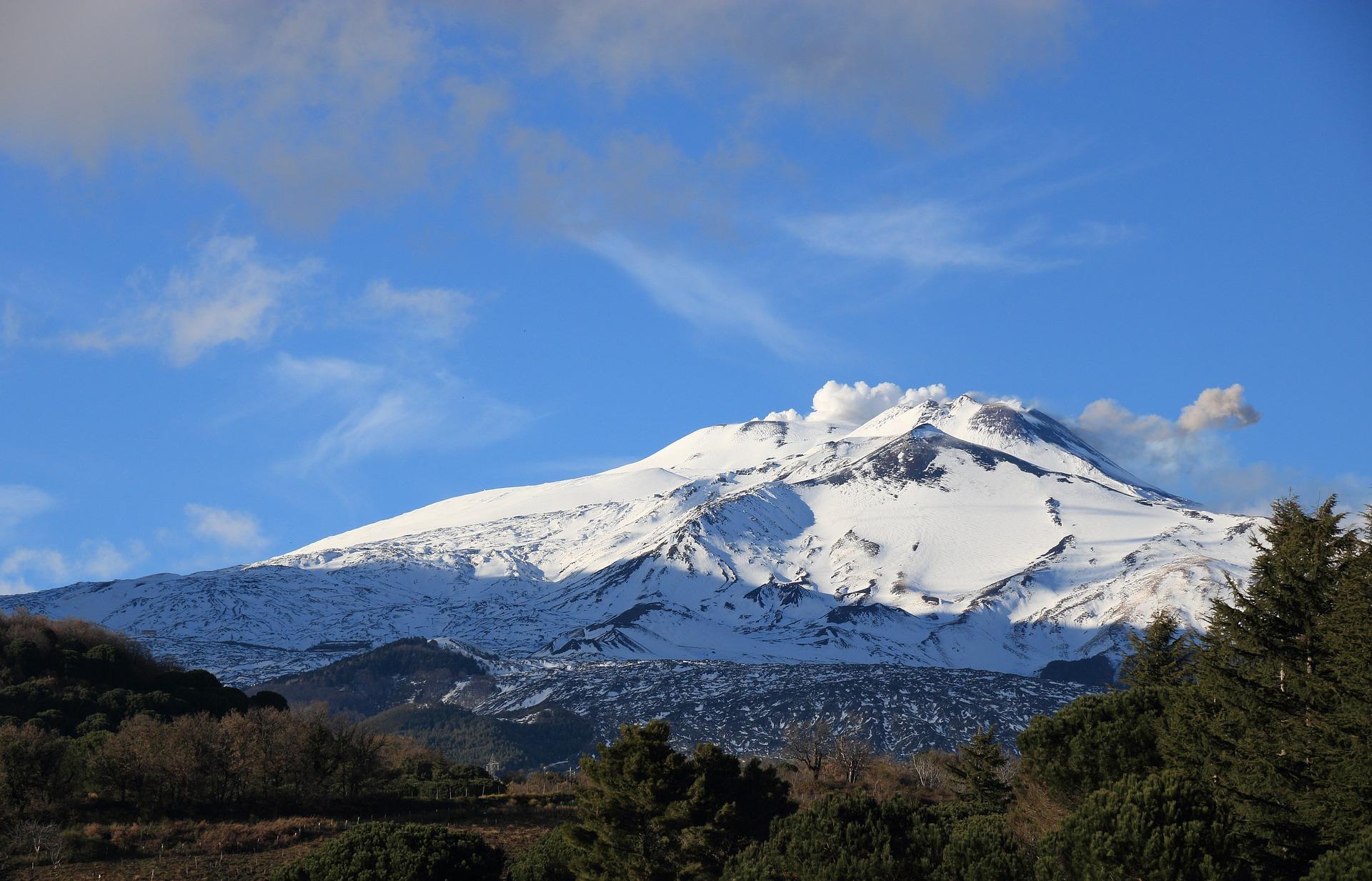 Etna Volcan