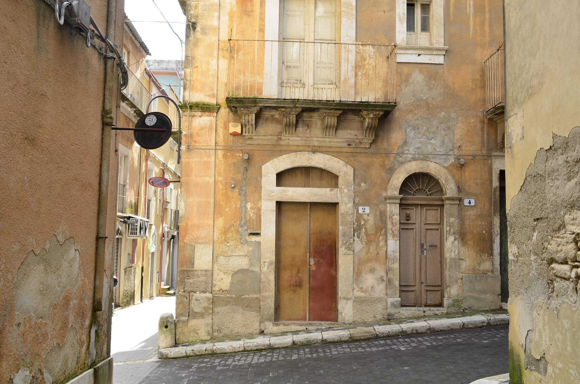 Las calles características del centro siciliano.