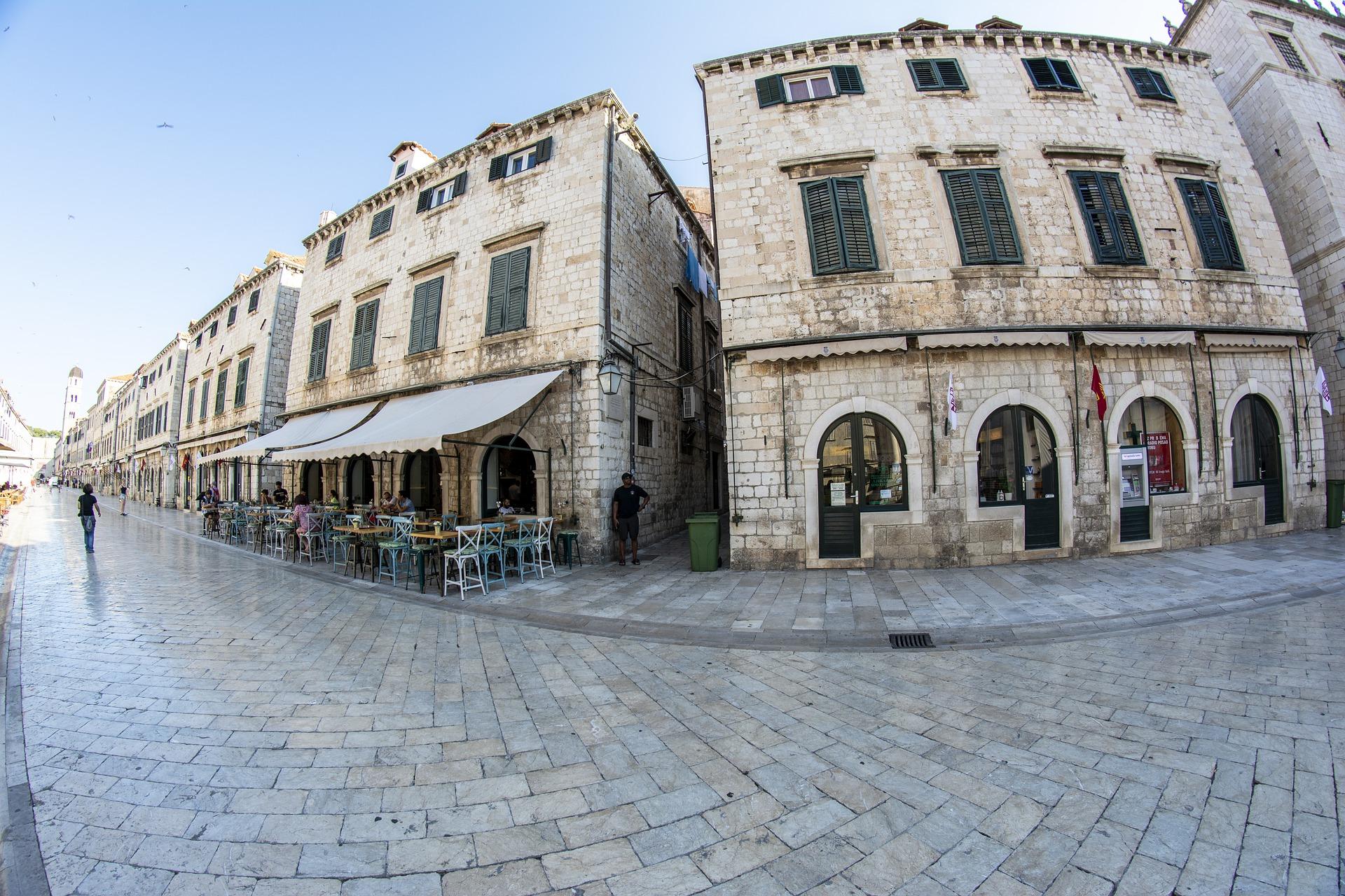 Die Straßen des historischen Zentrums