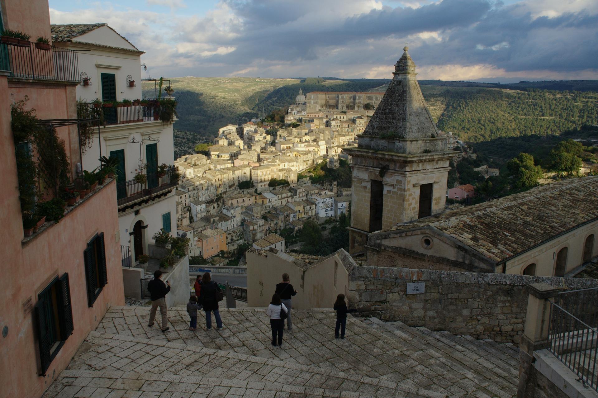 Historia en Ragusa - Barroco y visual